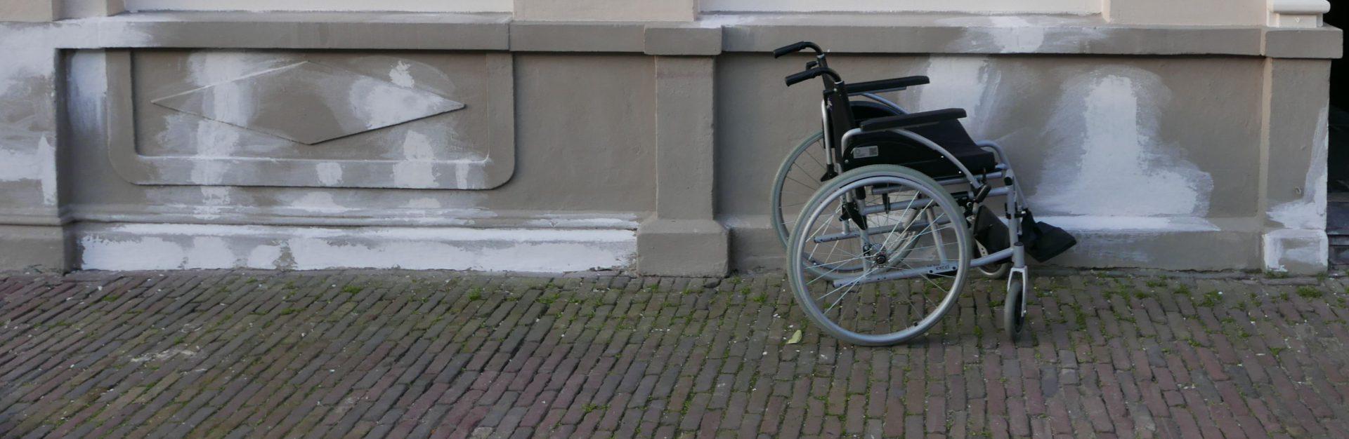 De onzichtbare rolstoel